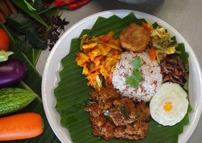 Nasi Padang Beef/Mutton Rendang